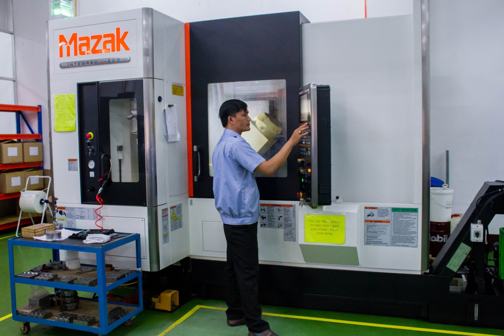 Mazak Intergrex J200 (4+1 Axis)